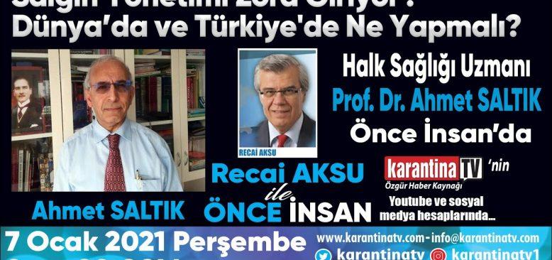 Dünya`da ve Türkiye'de Ne Yapmalı?