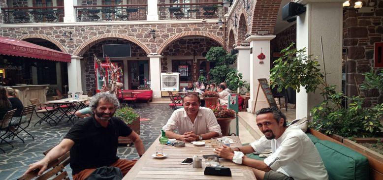 Haluk Özkan İzmir Sinagoglarını Belge Altına Aldı