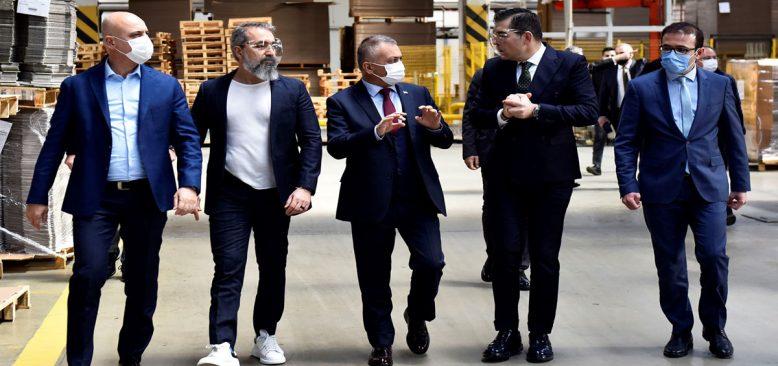 Antalya sanayi üssü oldu