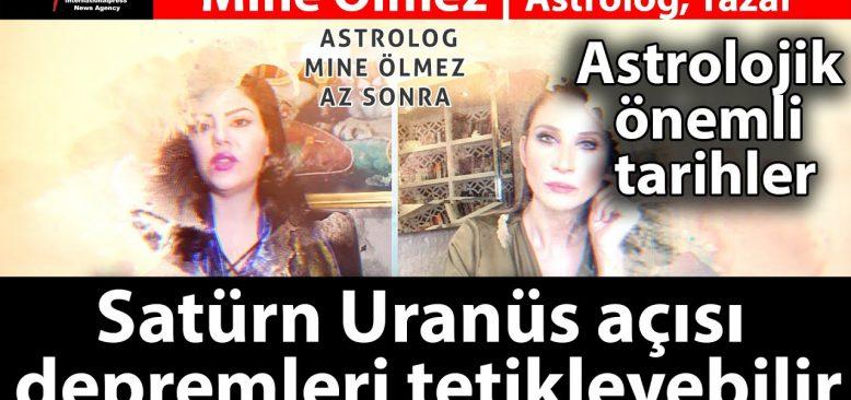 Dikkat  Satürn Uranüs açısı depremleri tetikleyebilir