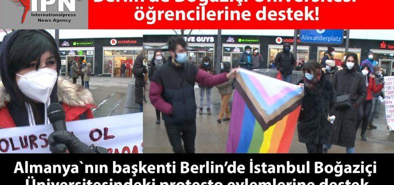 Berlin'de Boğaziçi Üniversitesi öğrencilerine destek!