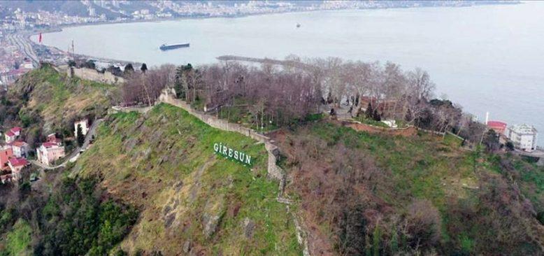 Giresun Kalesi, surları ve mağaralarıyla turist çekecek