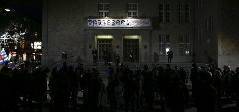 Hanau kentindeki ırkçı terör saldırısının kurbanları anıldı