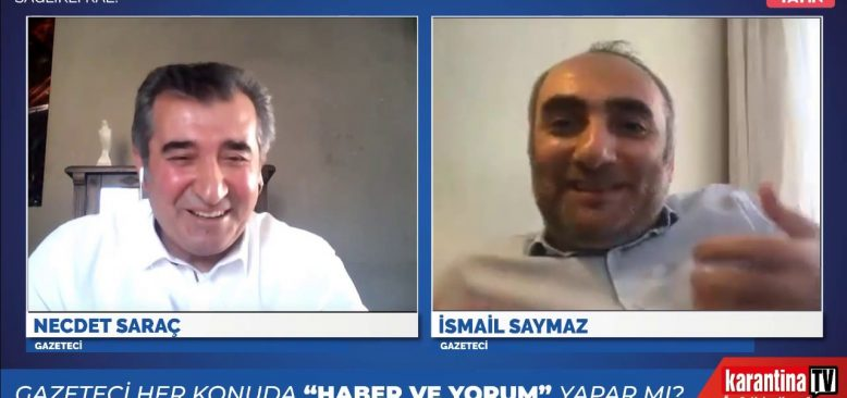 İsmail Saymaz: Medyanın korkudan kestiği yayını TRT'den izledim!
