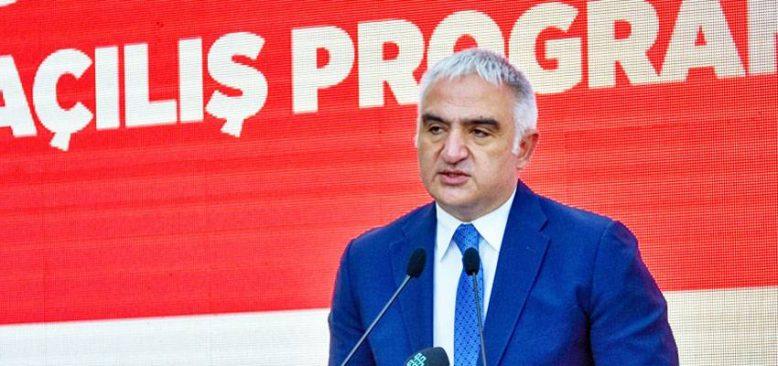 Bakan Ersoy: Bakanlığımızın projeleri kapsamında turizmi 81 vilayete yaymak var