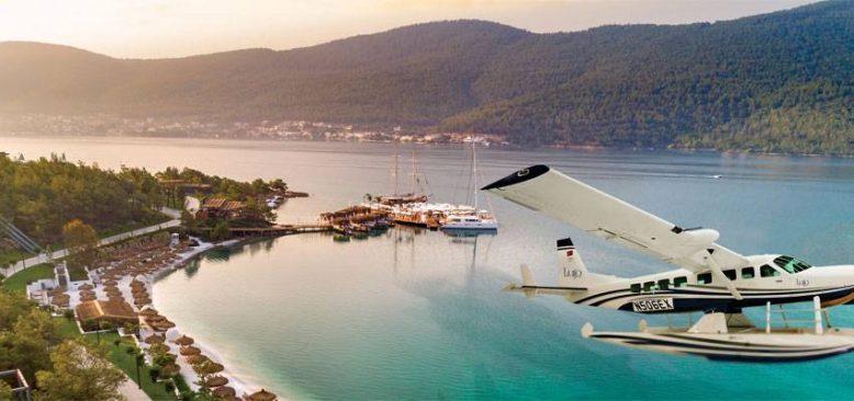 Bodrum´un yeni deniz uçağı ile denizleri uçarak keşfedin!