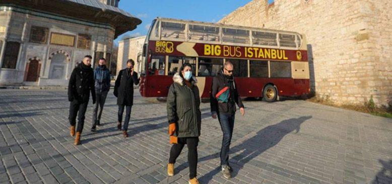 Salgında İstanbul'u ziyaret eden Bosnalı gazeteciler 'güvenli turizm' olanaklarına hayran kaldı