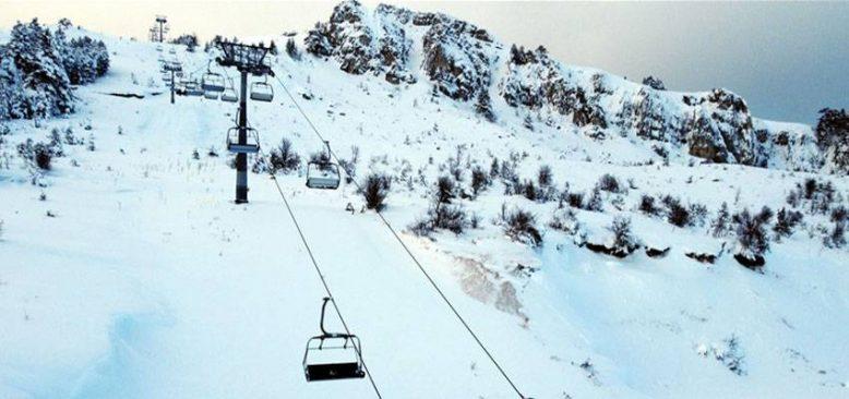 Türkiye'nin kayak merkezleri Türk sporuna hizmet ediyor