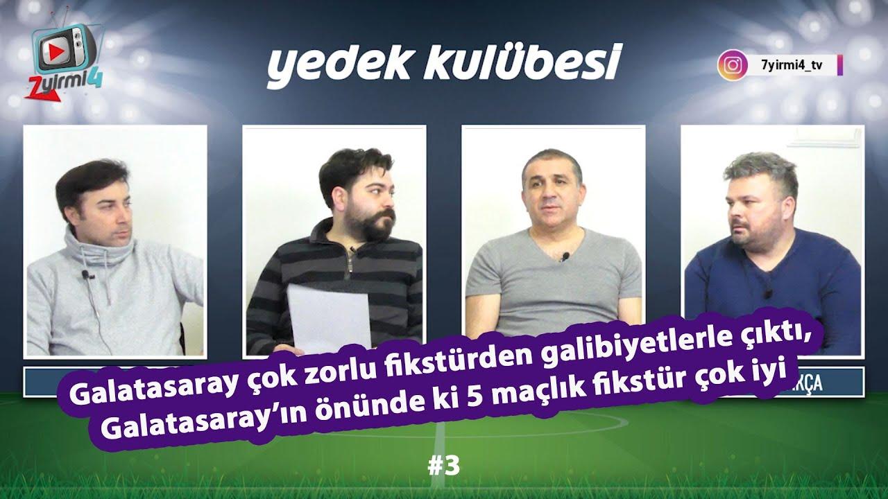 Galatasaray çok zorlu fikstürü kayıpsız geçti