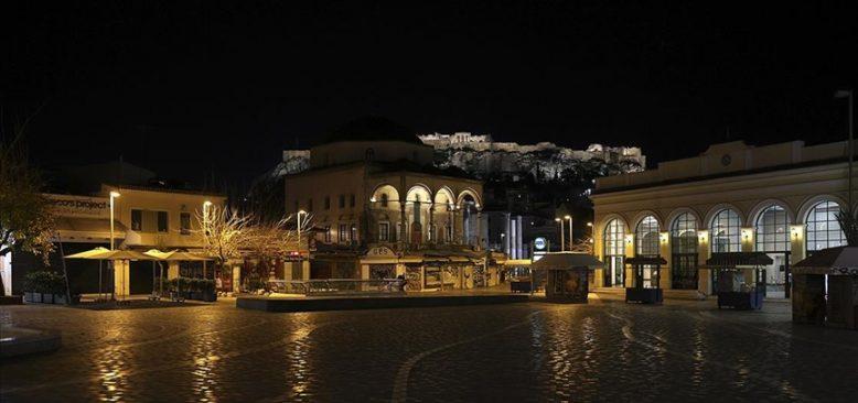 Yunanistan'ın başkenti Atina ve Pire'de 'sert kapanmaya' gidiliyor