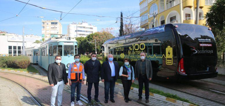 Elektrikli otobüsler Antalya'da test ediliyor