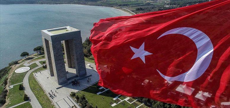 Çanakkale Şehitliği'nde 18 Mart'ta 81 Türk bayrağı göndere çekilecek