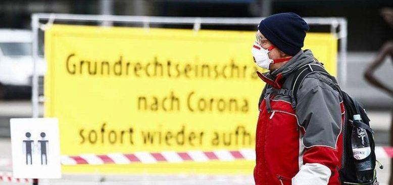 Almanya'da salgınla mücadele tedbirlerinin süresi 28 Mart'a kadar uzatıldı
