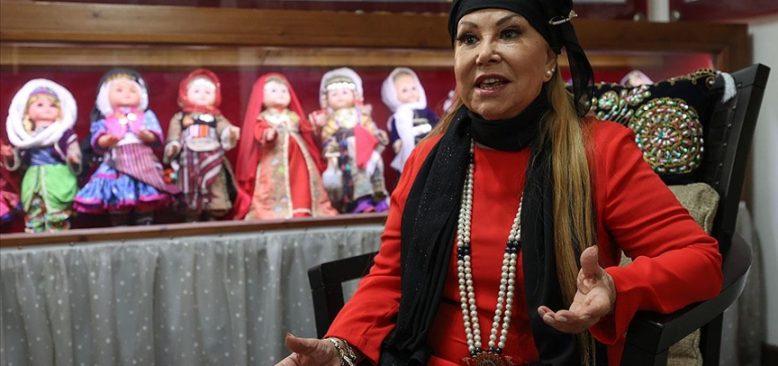 Anadolu türkülerine ömrünü adayan sanatçı: Bedia Akartürk