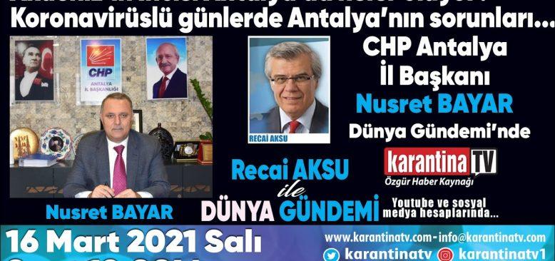 Akdeniz'in incisi Antalya'da neler oluyor?
