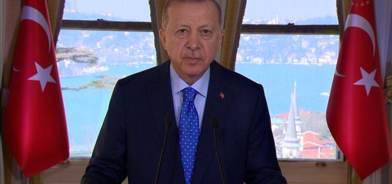 Erdoğan: Kovid-19'a karşı mücadeleyi başarıyla sonuçlandırmakta kararlıyız