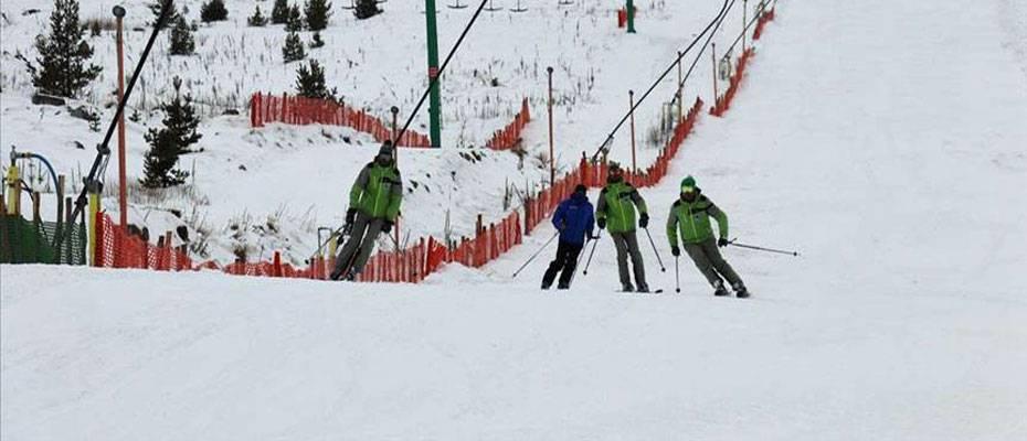 Kartalkaya'da kayak sezonu sona erdi