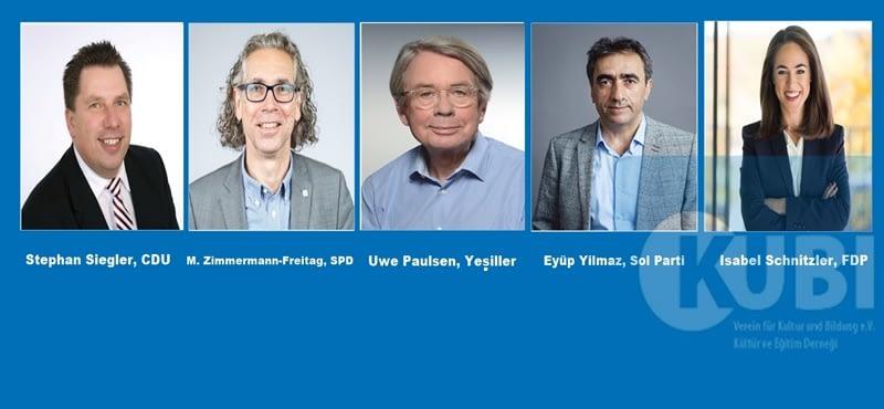 """KUBİ'den panel: """"Frankfurt'ta uyum, eğitim, ve sosyal politikalar; kim, ne istiyor?"""