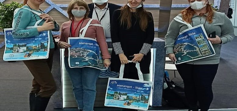 Moskova Turizm Fuarı'nda Antalya ilgisi