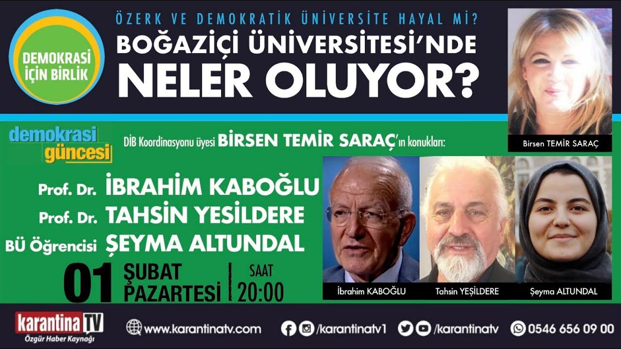 Özerk ve Demokratik Üniversite Hayal mi?