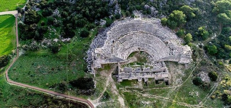Patara Antik Kenti, 14ncü Travel Turkey İzmir Fuarı'nda ilgi odağı oldu