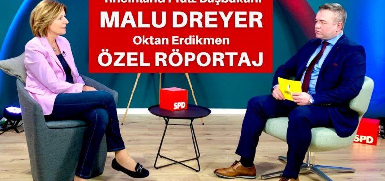 Rheinland-Pfalz Başbakanı Malu Dreyer ile özel röportaj