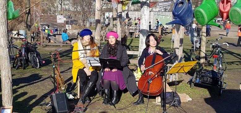 Dünya Kadınlar Günü'nde Berlin'de Türk Tangosu