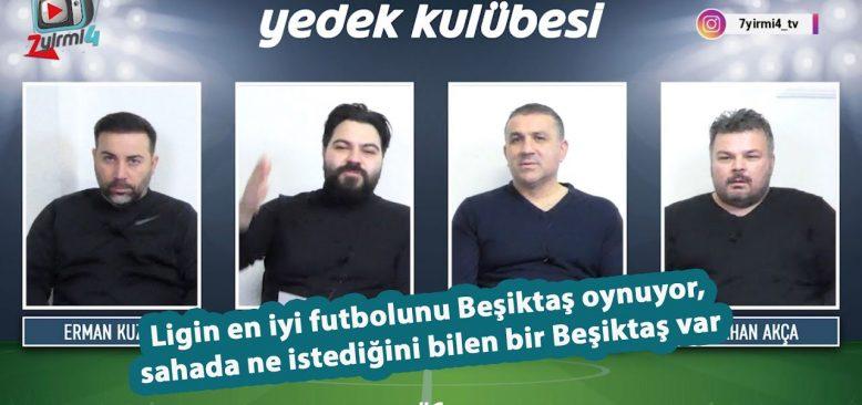 Beşiktaş ne oynadığını biliyor, en güzel futbol Beşiktaş'ta