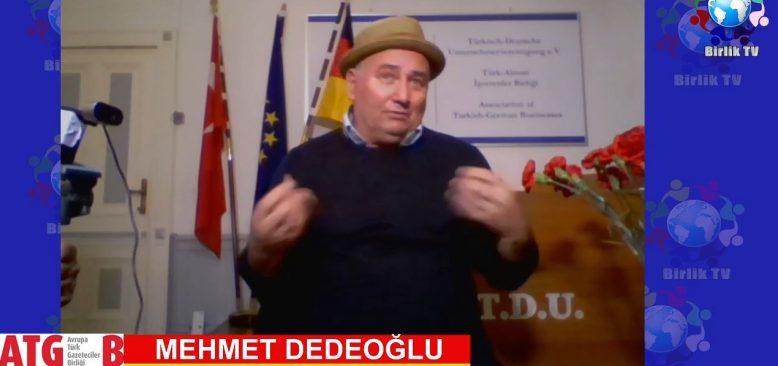 Mehmet Dedeoğlu gazetecilik anılarını anlattı