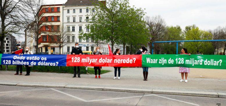 CHP Berlin`de sordu: 128 Milyar Dolar nerede?