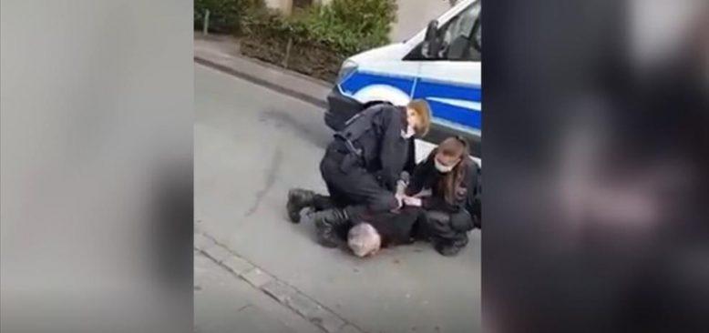 Almanya'da Türk iş adamı Emre Tümsek polis şiddetine maruz kaldı