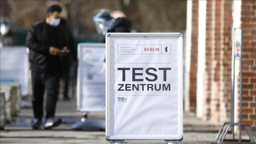 Almanya'da Kovid-19 vakası sayısı 3 milyona yaklaştı