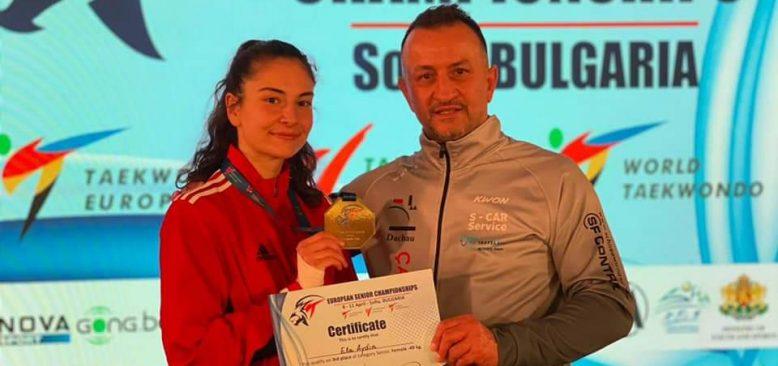Almanya'nın ilk ve tek madalyası Ela Aydın'dan geldi