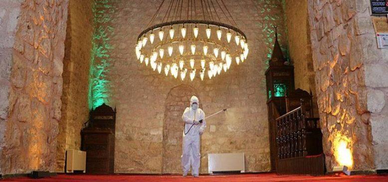 Güneydoğu'daki ecdat yadigarı camiler ramazana hazır