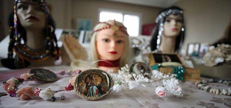 Kleopatra için getirildiğine inanılan kum Hatay'da kadınların takılarını süslüyor