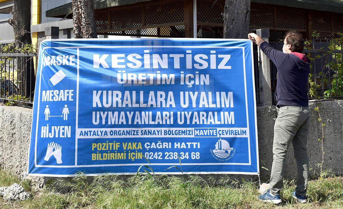 'Mavi OSB-Mavi Antalya' farkındalığı