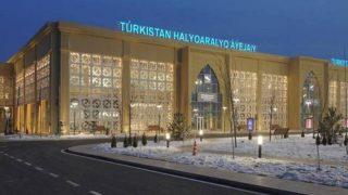 Türkistan Uluslararası Havalimanı 5 ayda yaklaşık 34 bin yolcu ağırladı