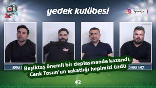 Beşiktaş zorlu deplasmanda kazandı, Cenk hepimizi üzdü