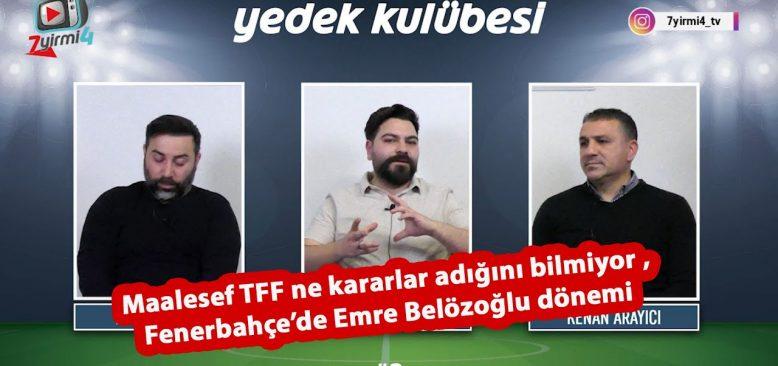 Türkiye Futbol Federasyonu çok kötü