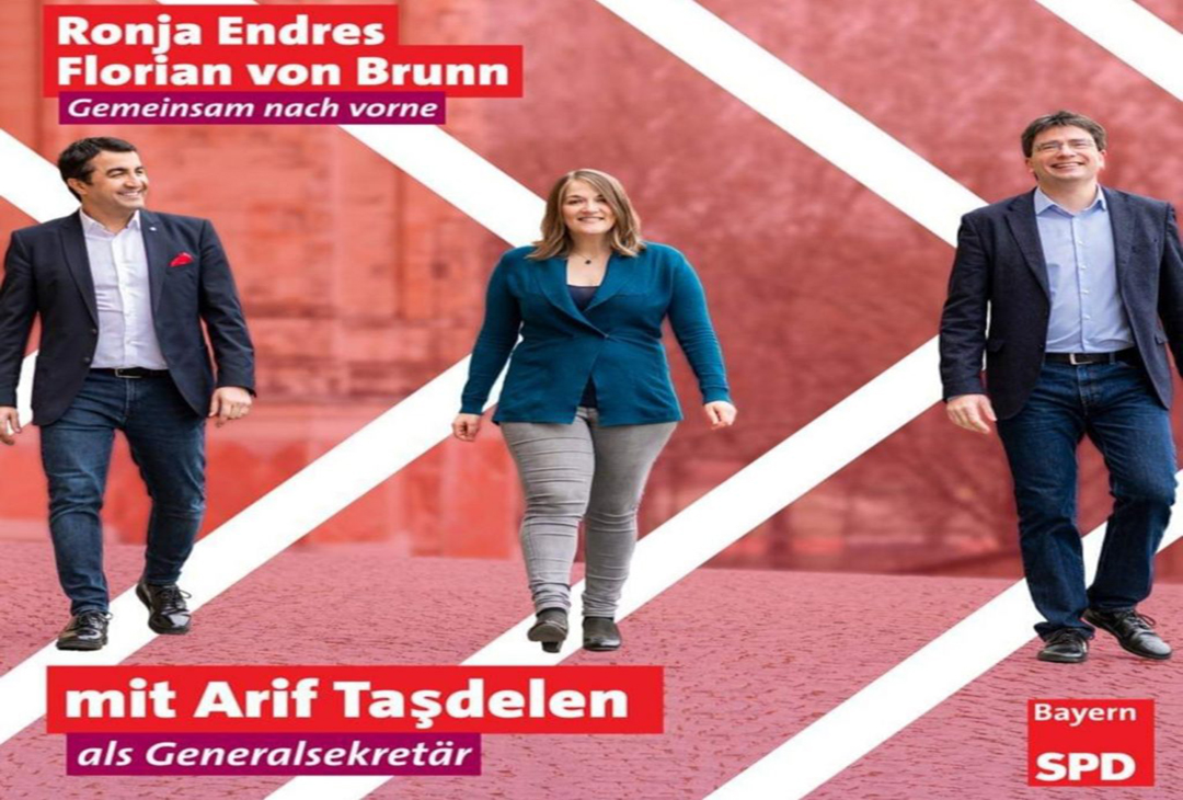 SPD' li Arif Taşdelen'e büyük onur