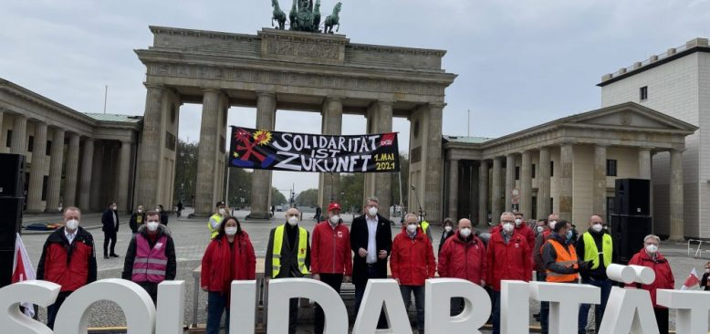 Almanya'da 1 Mayıs Emek ve Dayanışma Günü kutlamaları