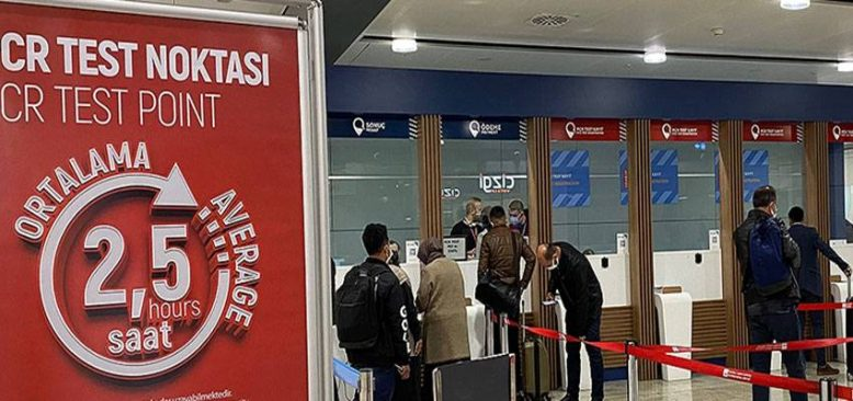 Bazı ülkelerden Türkiye'ye uçakla gelecek yolculardan PCR testi istenmeyecek
