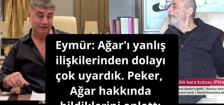 Emekli MİT Anti-Terör Dairesi Bşk. Eymür: Mehmet Ağar 'ı yanlış ilişkilerinden dolayı çok uyardık