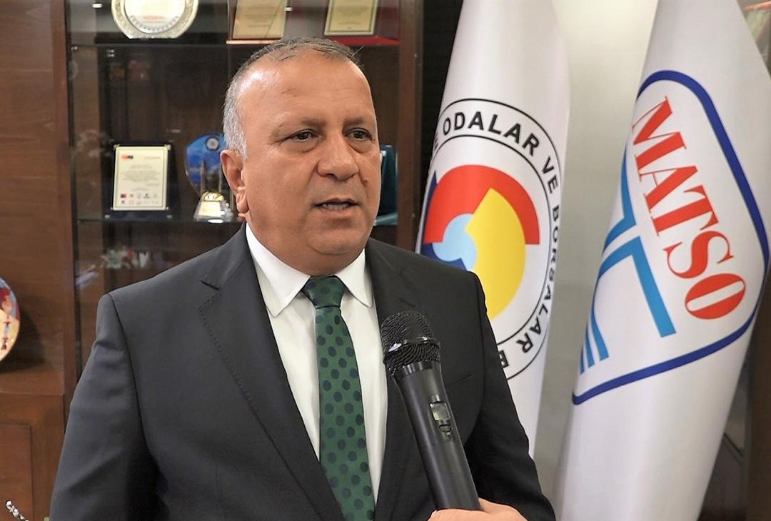 MATSO Başkanı Ahmet Boztaş Covid-19'dan yaşamını kaybetti