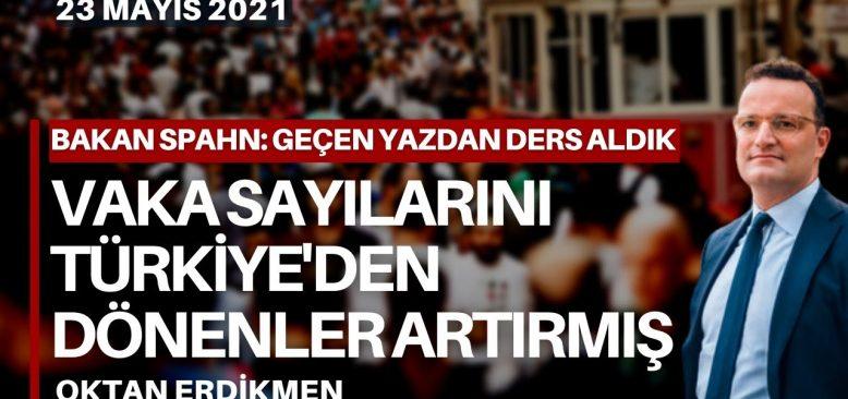 Vaka sayılarını Türkiye'den gelenler artırmış