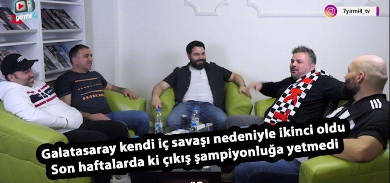 Galatasaray şampiyonluğu kendi iç savaş nedeniyle kaybetti