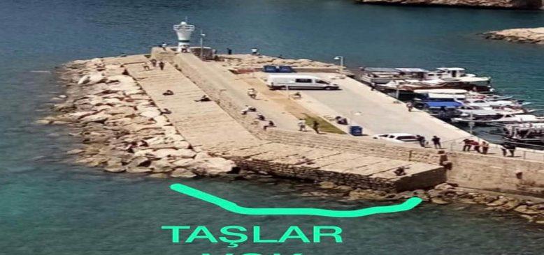 Tarihi Kaleiçi limanı mendireğinde çökme tehlikesi