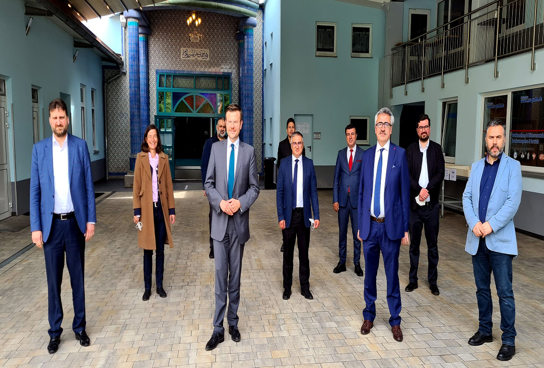 Nürnberg DİTİB Eyüp Sultan camiinde Aşı kampanyası Başlıyor