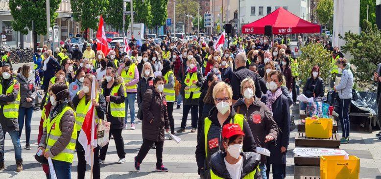 Nürnberg sağlık çalışanlarından 48 saatlik grev