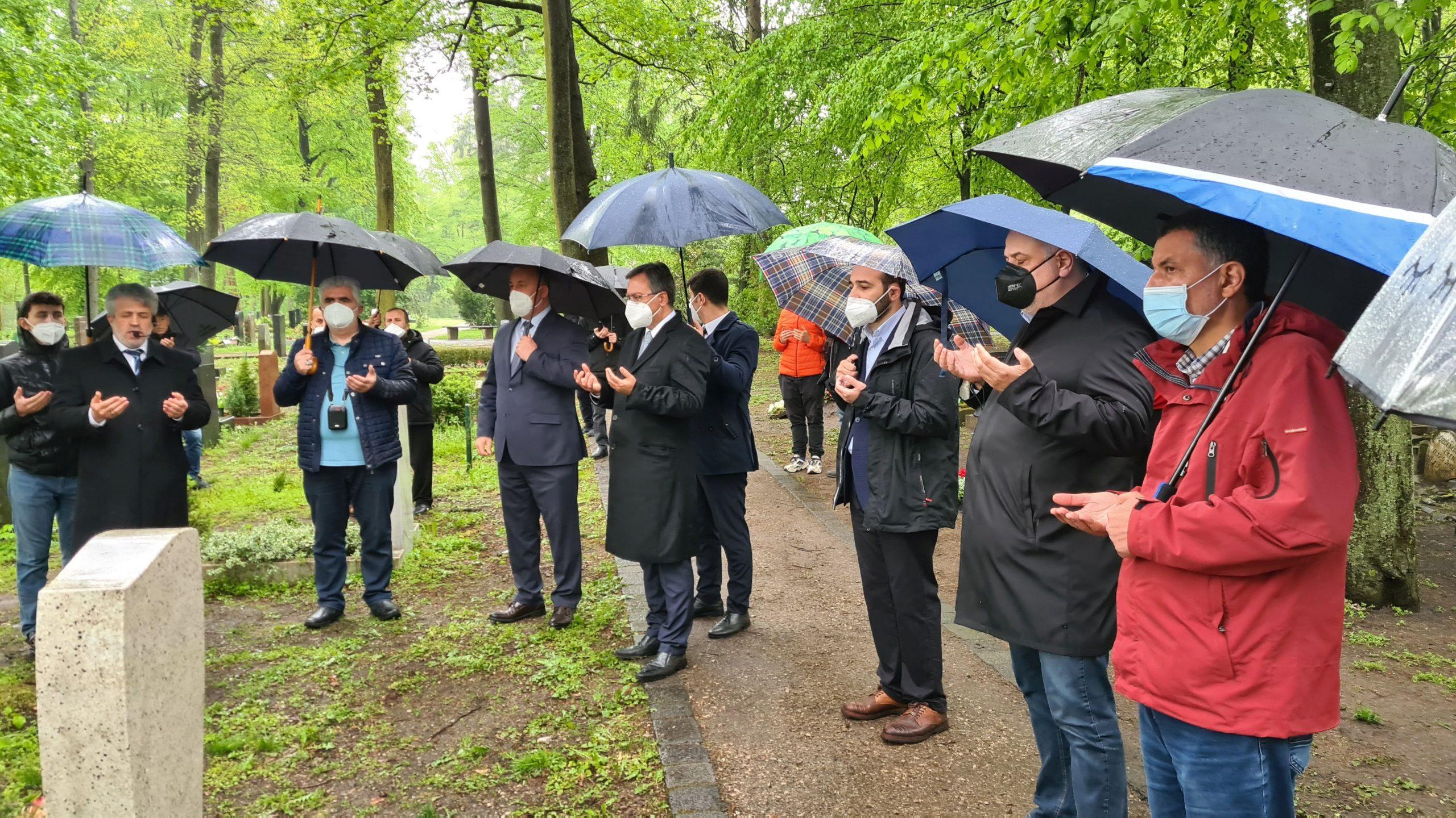 Nürnberg'de iki ayrı toplu mezar ziyareti yapıldı